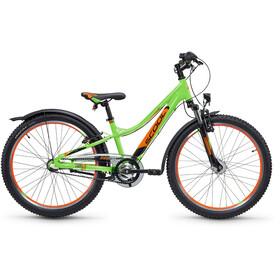 s'cool troX urban 24 3-S Neon Green